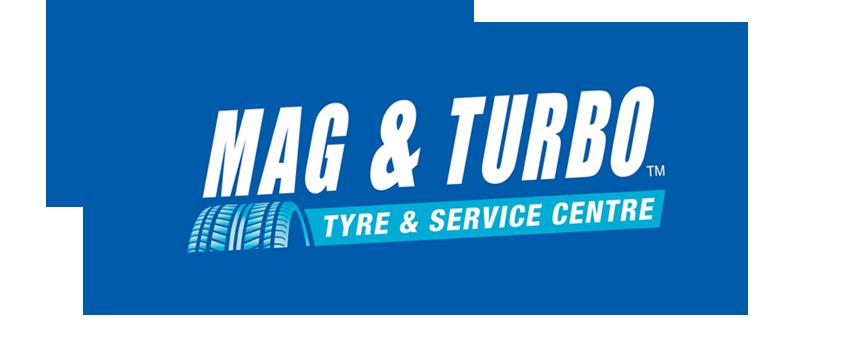 Mag & Turbo Logo Tee (W) - Mag & Turbo